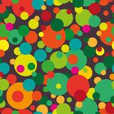Seamless pattern. Multi-colored circles on Royalty Free Stock Images