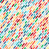Seamless pattern from multi-colored smears. Vector Royalty Free Stock Images