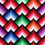 Seamless pattern with multicolor elements Royalty Free Stock Images