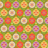 Seamless pattern with multicolored balls Stock Photos