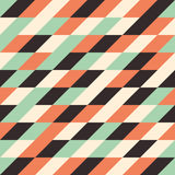 Seamless pattern with multicolored rhombuses. Stock Photo
