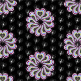 Seamless pattern with multiple colorful hearts Royalty Free Stock Photography