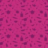 Seamless pattern - My kitchen 1 Royalty Free Stock Photography