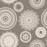 Seamless pattern with napkins Royalty Free Stock Images
