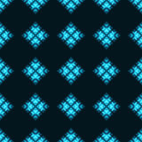 Seamless pattern with neon circles Royalty Free Stock Photos