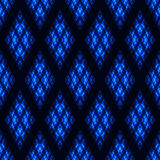 Seamless pattern with neon oval Royalty Free Stock Photography