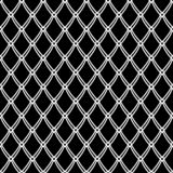 Seamless pattern. Net texture. Abstract knitted mesh. Seamless black and white pattern. Net texture. Abstract knitted mesh. Vector art vector illustration