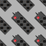 Seamless pattern network filter icons Royalty Free Stock Photo