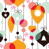 Seamless pattern for New Year Royalty Free Stock Photos