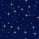 Night sky and stars Royalty Free Stock Images