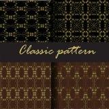 Seamless pattern. No shape black and gray seamless pattern Royalty Free Stock Photo