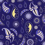 Seamless pattern of nocturnal. Vector seamless pattern for graphic design, textile design or web design Stock Image