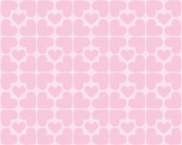 Seamless Pattern Of Hearts - Vector Image Stock Photos
