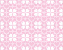 Seamless Pattern Of Hearts - Vector Image Royalty Free Stock Image