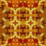 Seamless pattern, oil painting Royalty Free Stock Photo