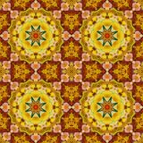 Seamless pattern, oil painting Stock Image