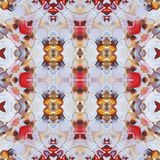 Seamless pattern, oil painting Stock Photography