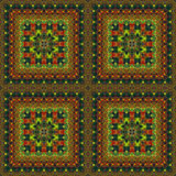 Seamless pattern, oil painting Stock Images