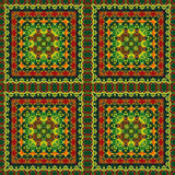 Seamless Pattern Oil Painting Stock Photo