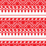 Seamless pattern with old ethnic belarusian ornate Royalty Free Stock Photography