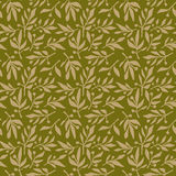 Seamless pattern olive branch Stock Images