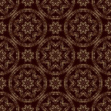 Seamless pattern with openwork flowers Stock Photo