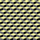 Seamless pattern with optical illusion effect. Stock Photos