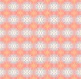 Seamless pattern orange pink blue beige Royalty Free Stock Photography