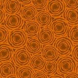 Seamless pattern of orange roses Royalty Free Stock Photography