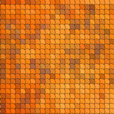 Seamless pattern with orange tiles Royalty Free Stock Photos