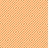 Seamless pattern with orange and white diagonal stripes, seamless texture background. Halloween, thanksgiving holidays Stock Images