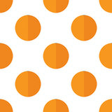 Seamless pattern with oranges royalty free stock image
