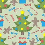 Seamless pattern ore background  Merry Christmas and Happy New Yea e 59