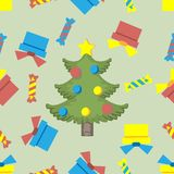 Seamless pattern ore background  Merry Christmas and Happy New Yea  62