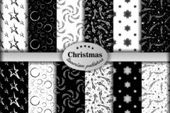 Seamless pattern ore background  Merry Christmas and Happy New Yea 78