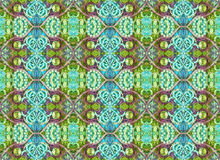 Seamless Pattern Oriental Look Stock Photos