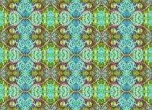 Seamless Pattern Oriental Look Stock Photos