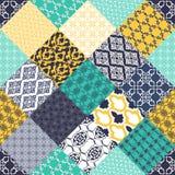 Seamless pattern with oriental motif. Stock Image