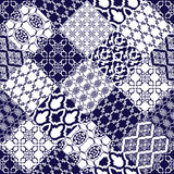 Seamless pattern with oriental motif. Stock Photos