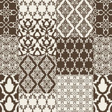 Seamless pattern with oriental motif. Stock Images
