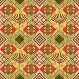 Seamless Pattern Oriental Stock Images