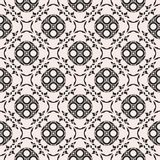 Seamless pattern in oriental style, arabesque background Stock Image