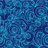 Seamless pattern in oriental style   illustration Royalty Free Stock Images