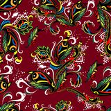 Seamless pattern in oriental style Royalty Free Stock Photo