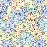 Seamless Pattern in Oriental Style Stock Image