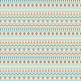 Seamless pattern with origami boat stock illustration