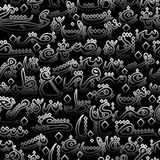 Seamless pattern ornament Arabic calligraphy style Royalty Free Stock Photos
