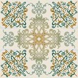 Seamless pattern ornament Arabic calligraphy of text Eid Mubarak concept for muslim community festival. Eid Al Fitr(Eid Mubarak Royalty Free Stock Photos