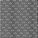 Seamless pattern. Ornament of arch. Geometric background. Vector illustration. Good quality. Good design stock illustration
