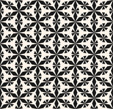 Seamless pattern ornament, geometric floral texture. Stock Image